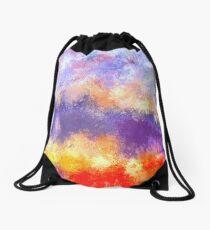 Desire: the skies are burning Drawstring Bag