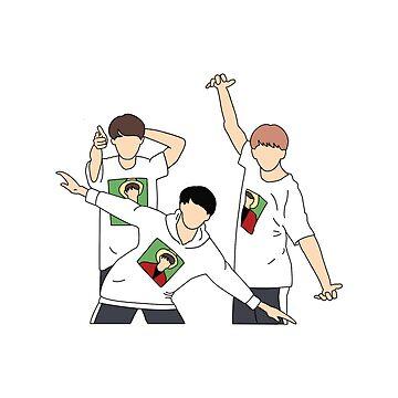 BTS 방탄 Kim Equipo Kim Seokjin Namjinkook de graysonly