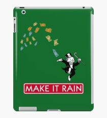 Make it Rain - Monopoly iPad Case/Skin