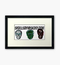 skullsbywhacky.com Framed Print