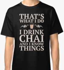 Desi Knows Things Classic T-Shirt