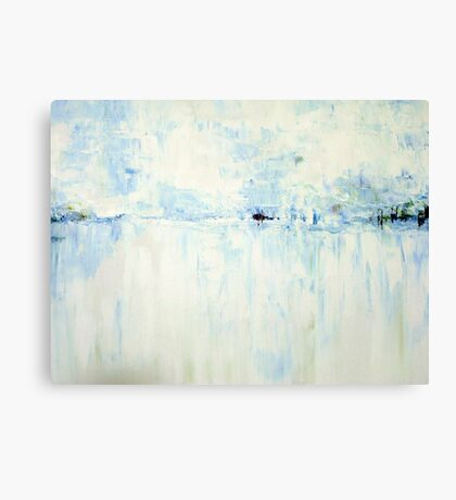 Cold #2 Abstract Landscape Canvas Print