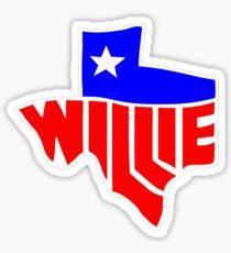 """Willie Nelson """"Lone State""""  Sticker"""