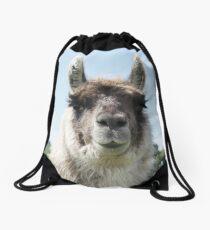 An Irish llama Drawstring Bag