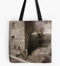 Old mill Wheel Tote Bag
