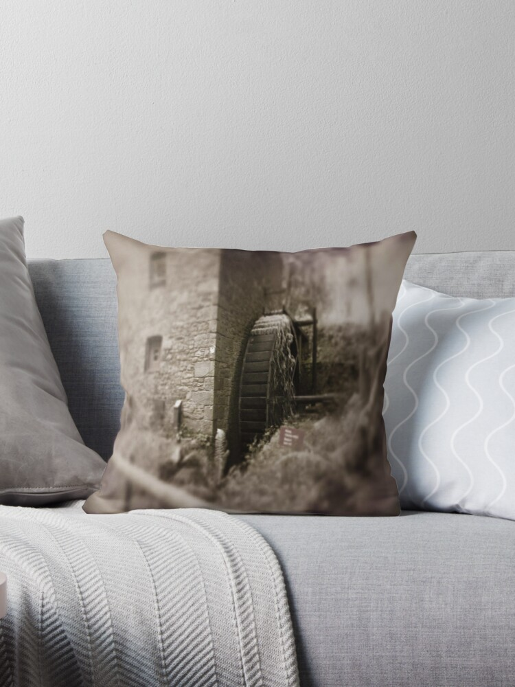 Old mill Wheel by Joyce Knorz