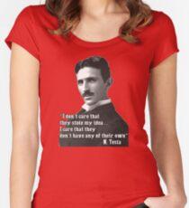 Tesla Women's Fitted Scoop T-Shirt