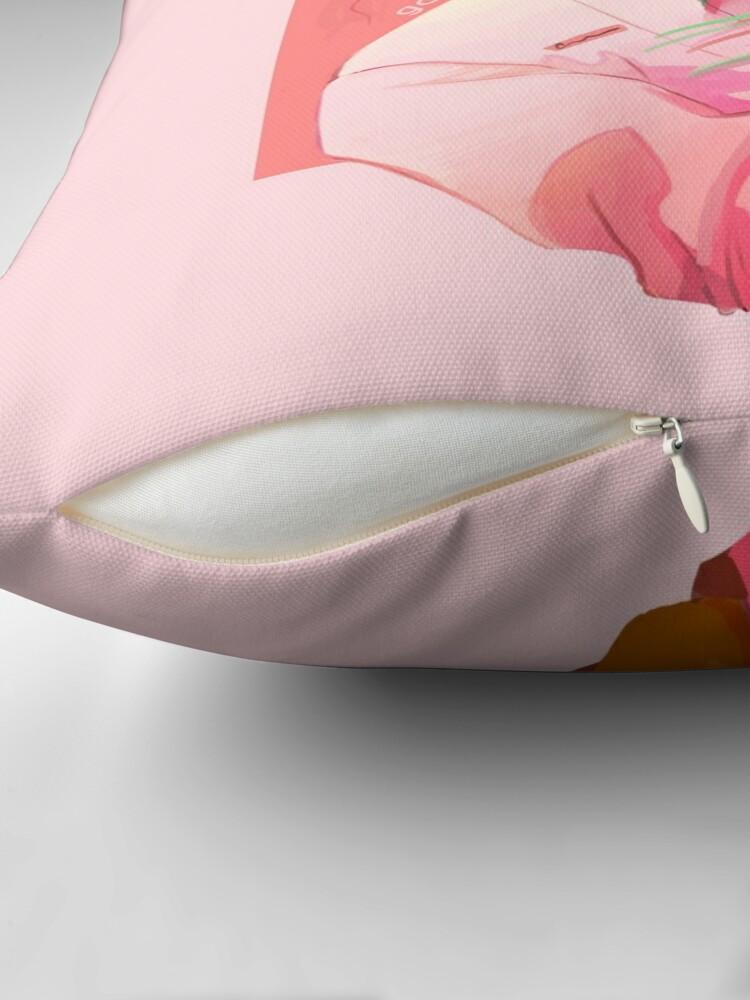 Vista alternativa de Cojín Girasoles rosas