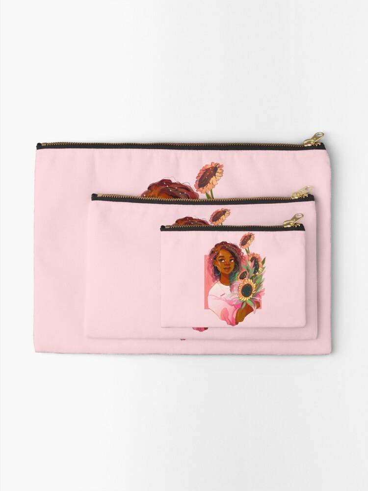 Vista alternativa de Bolsos de mano Girasoles rosas