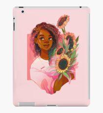Pink Sunflowers iPad Case/Skin