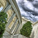 The Memorial Amphitheater in Arlington by maileilani