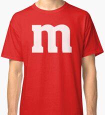 M Candy Funny Halloween Costume T-Shirt Classic T-Shirt