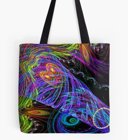 Cosmic Hurricaine Tote Bag