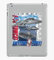 Grumman F-14 Tomcat Anytime, Baby! iPad Case/Skin