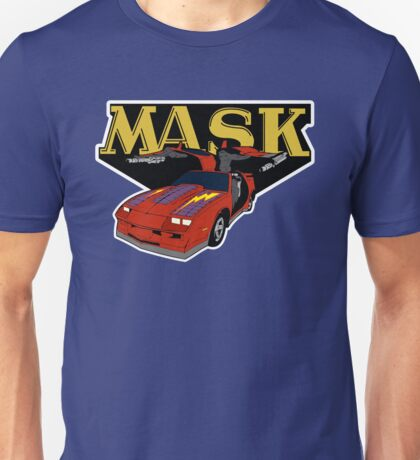 Mask Thunderhawk Car 80s Cartoon T-shirt