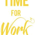 Time for work sticker  by adenick