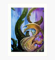 circumnutation three Art Print