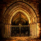 Priory Door by Mark Waugh