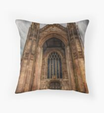 Highcliffe Castle Entrance Throw Pillow