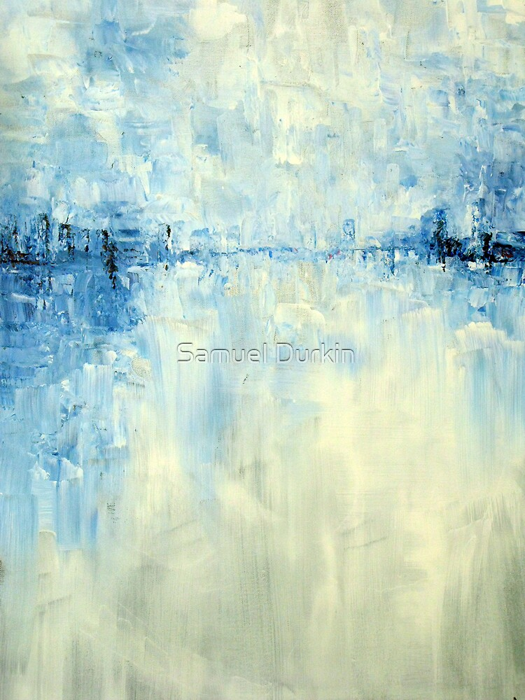 Cold #1 Abstract Landscape by Samuel Durkin