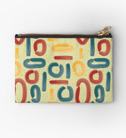 abstract summer fun Studio Pouch