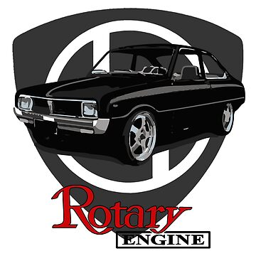 Mazda R100 Rotary Black by harrisonformula