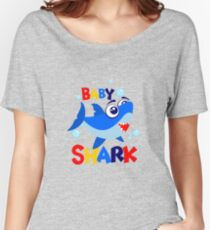 baby shark amazing Women's Relaxed Fit T-Shirt