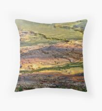 Yellowstone Paint Pots. Throw Pillow