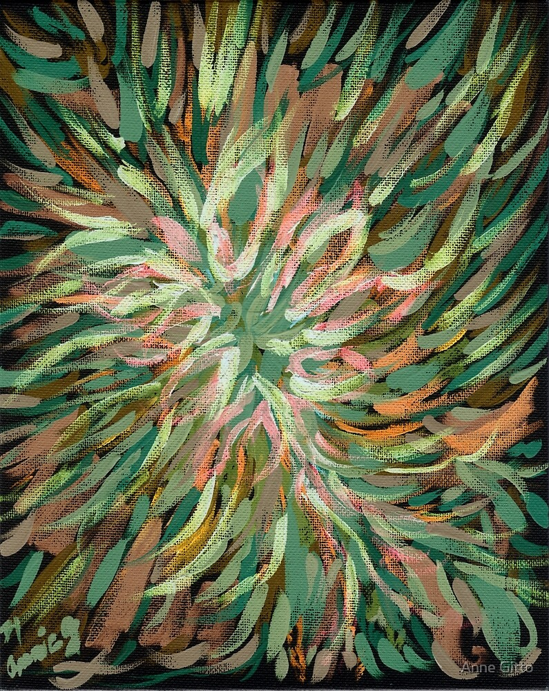 An Explosion of Green by Anne Gitto