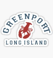 Greenport - Long Island. Sticker