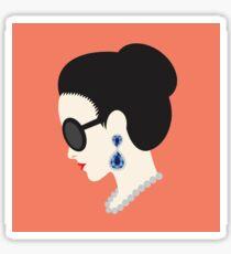 Crazy Rich Asians Cover Image  Sticker
