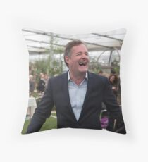 Piers Morgan at the Chelsea flower show 2015 Throw Pillow
