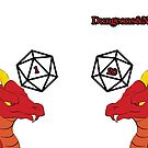 Dragon with a d20 by DungeonsNewbies