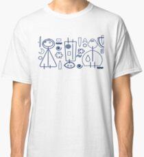 Children - blue design Classic T-Shirt