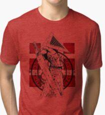 Pyramid Head Tribute Tri-blend T-Shirt