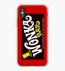 Willy Wonka Chocolate Bar iPhone Case