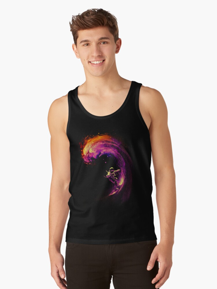 Space Surfing Tank Top Front