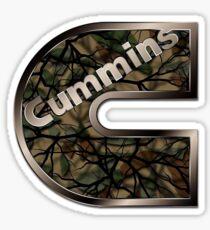 Turbo Diesel Dodge Cummins Army Logo Sticker