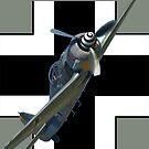 Roundel Design - Focke Wulf 190 VH-WLF approaching by muz2142