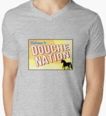 Welcome To Douche Nation Men's V-Neck T-Shirt