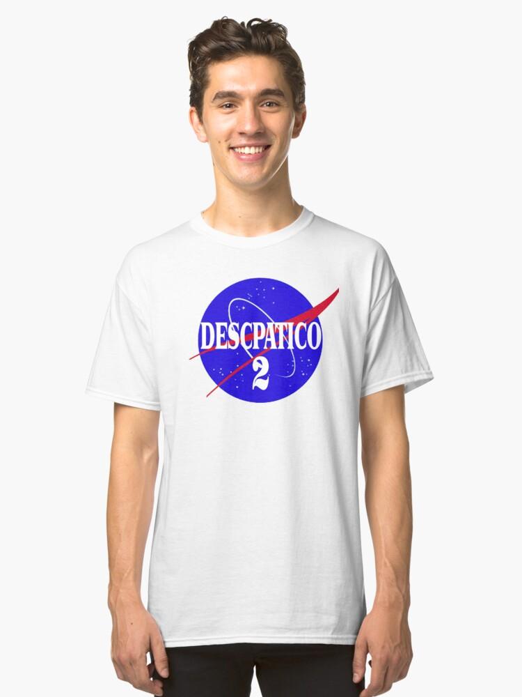 NASA Despacito 2 Classic T-Shirt Front