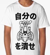 CRUSH THE DEMONS Long T-Shirt