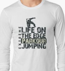 Parkour Jumping Long Sleeve T-Shirt