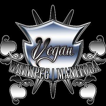 Vegan Winnipeg Manitoba  by XephToons