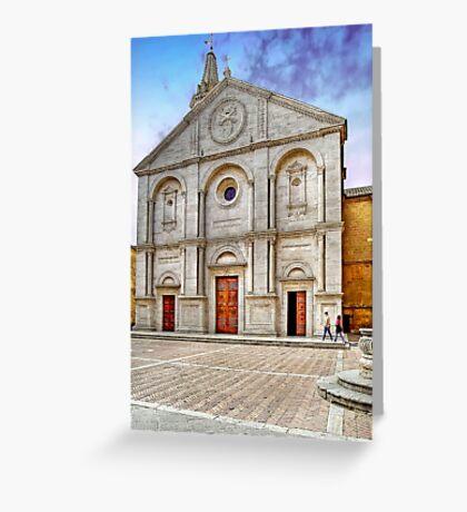 The Cathedral of Santa Maria Assunta Greeting Card