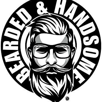 bearded & handsome  by netrok