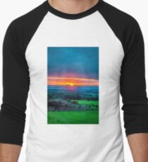 Dreamy Sunset Baseball ¾ Sleeve T-Shirt