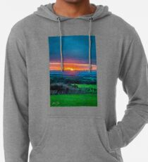 Dreamy Sunset Lightweight Hoodie