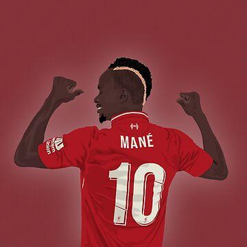 Sadio Mane - Liverpool No 10 by talklfcpodcast
