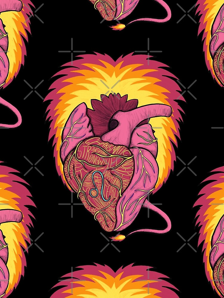 Leo Heart by Ranggasme